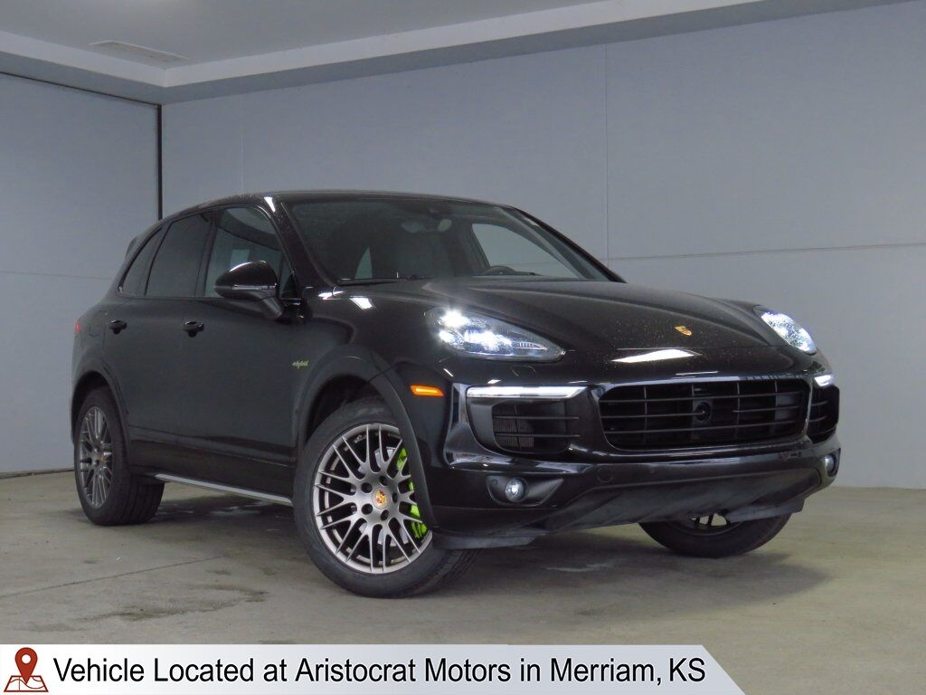 2018 Porsche Cayenne E-Hybrid S Platinum Edition Merriam KS