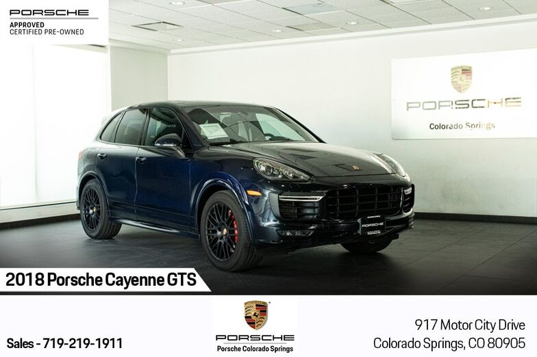 2018 Porsche Cayenne GTS Colorado Springs CO