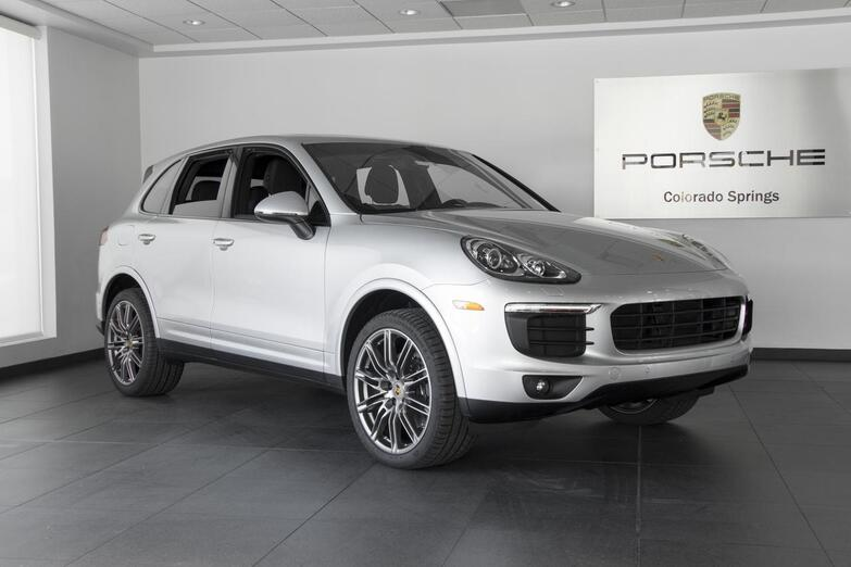 2018 Porsche Cayenne Platinum Edition Colorado Springs CO