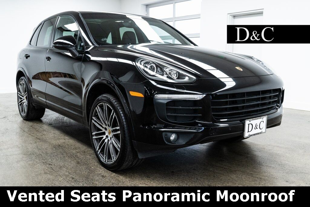 2018 Porsche Cayenne Platinum Edition Vented Seats Panoramic Moonroof Portland OR