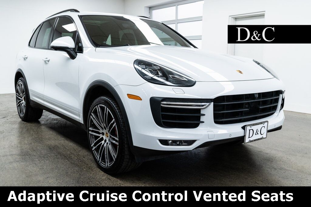 2018 Porsche Cayenne Turbo Adaptive Cruise Control Vented Seats Portland OR