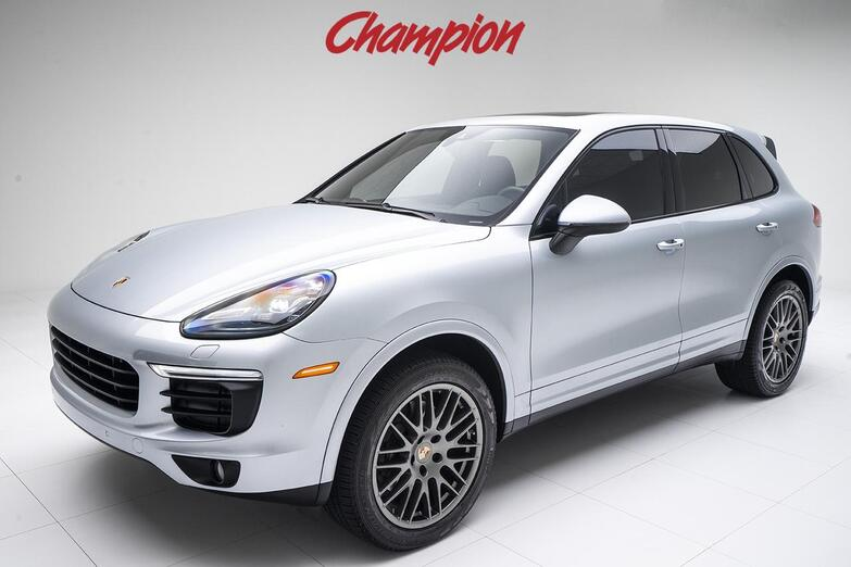 2018 Porsche Demo Sale Cayenne Platinum Edition Pompano Beach FL