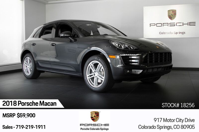 2018 Porsche Macan  Colorado Springs CO