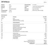 2018 Porsche Macan  Pompano Beach FL