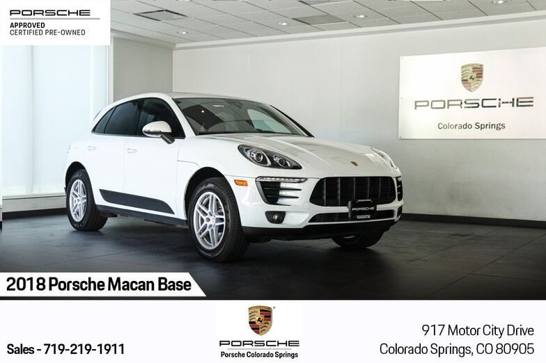 2018 Porsche Macan Base Colorado Springs CO