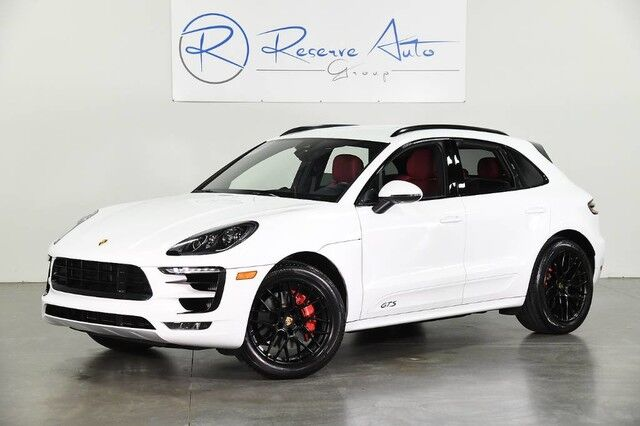 2018 Porsche Macan GTS Sport Chrono Pkg Lane Change Assist BOSE The Colony TX