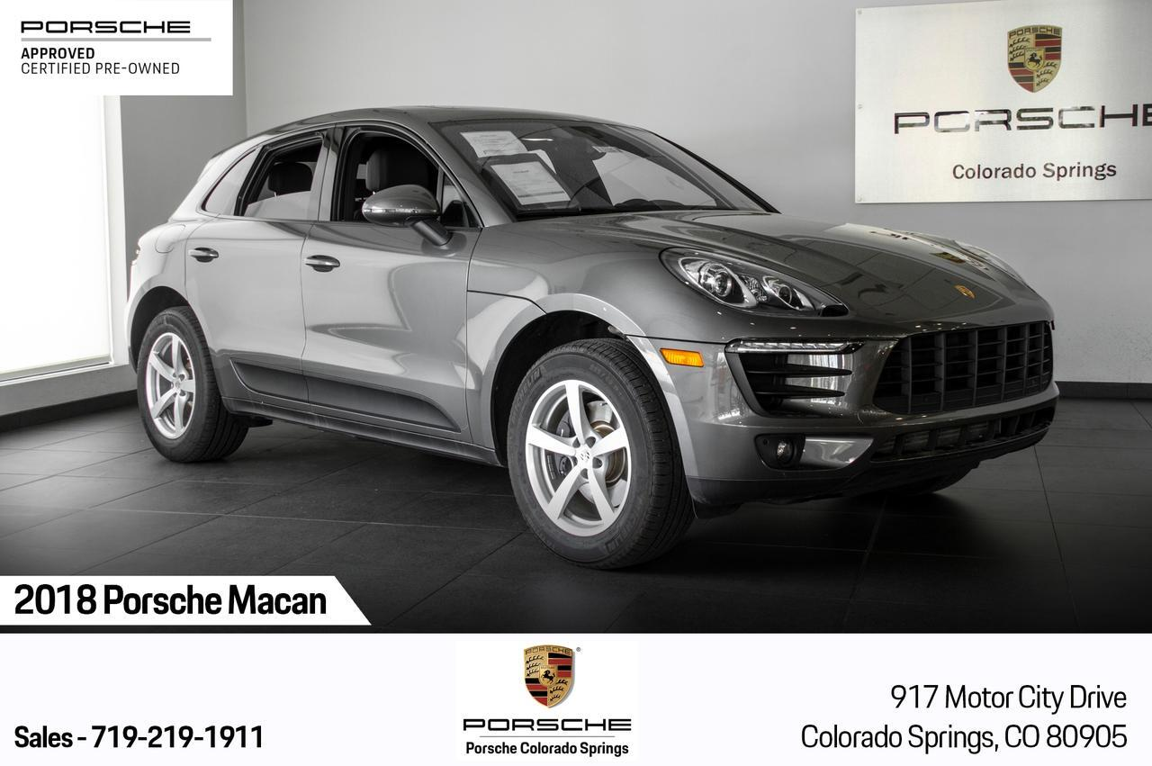 2018 Porsche Macan Macan Colorado Springs CO