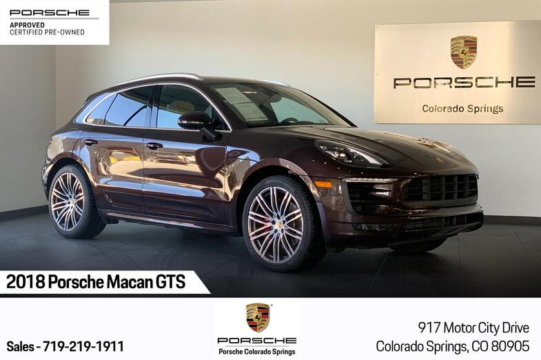 2018 Porsche Macan Macan GTS Colorado Springs CO
