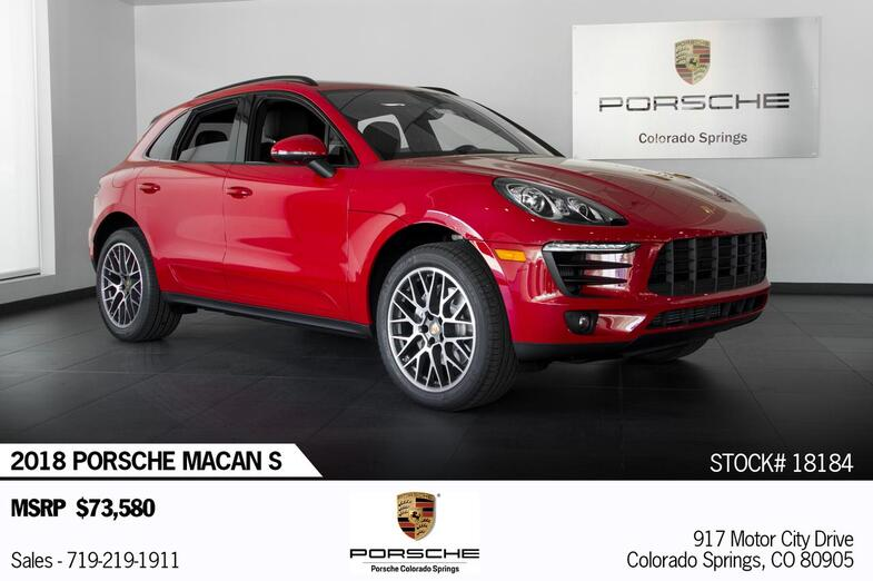 2018 Porsche Macan Macan S Colorado Springs CO
