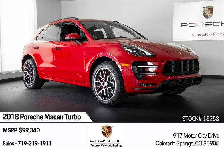 2018 Porsche Macan Macan Turbo Colorado Springs CO