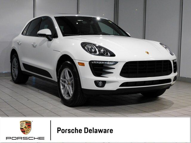 2018 Porsche Macan NEW WITH EXTENDED CERTIFIED WARRANTY Newark DE