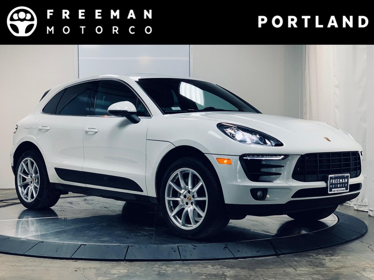 2018 Porsche Macan S AWD Pano Cooled Seats Apple CarPlay Portland OR