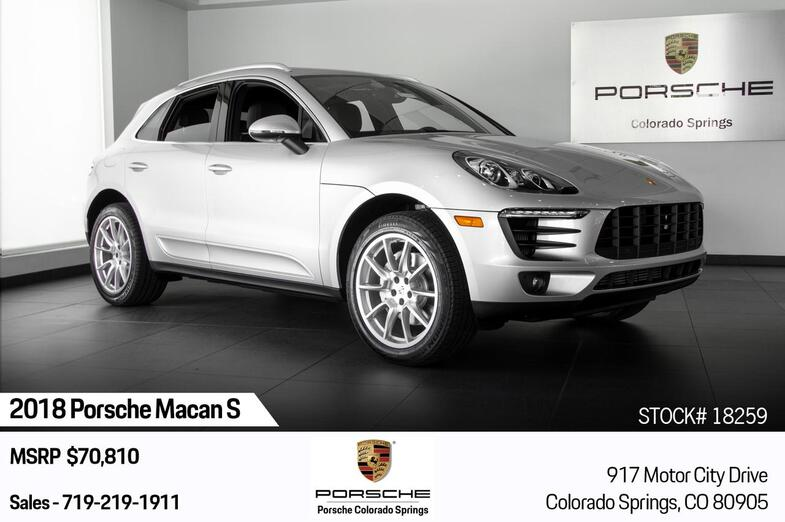 2018 Porsche Macan S Colorado Springs CO