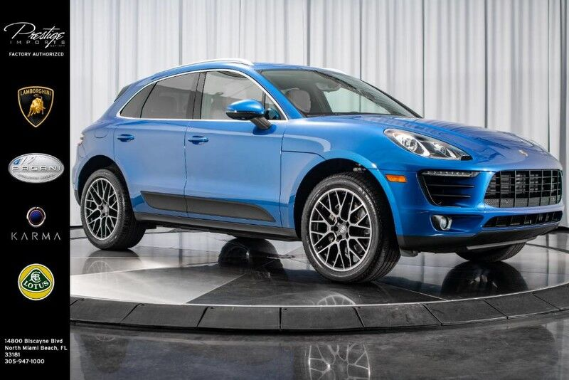 2018_Porsche_Macan_S_ North Miami Beach FL