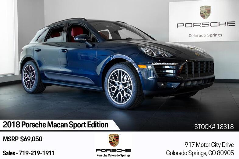 2018 Porsche Macan Sport Edition Colorado Springs CO