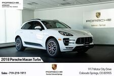2018 Porsche Macan Turbo