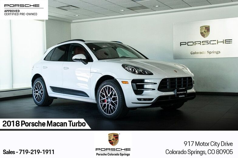 2018 Porsche Macan Turbo Colorado Springs CO