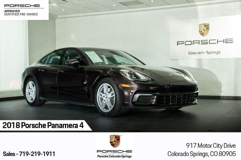 2018 Porsche Panamera 4 Colorado Springs CO