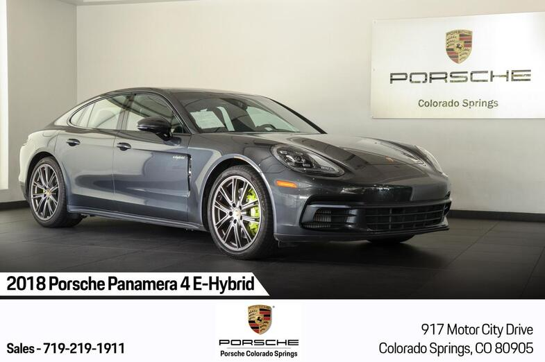 2018 Porsche Panamera 4 E-Hybrid Colorado Springs CO