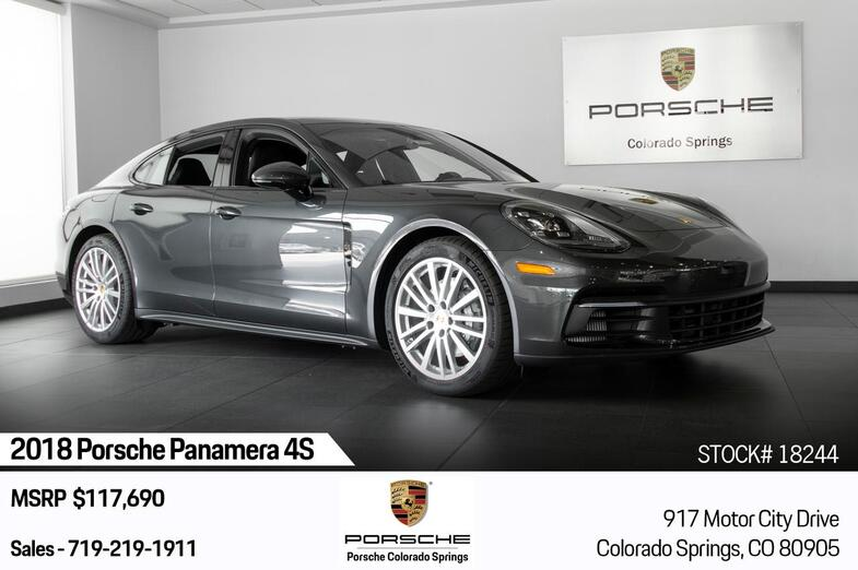 2018 Porsche Panamera 4S Colorado Springs CO