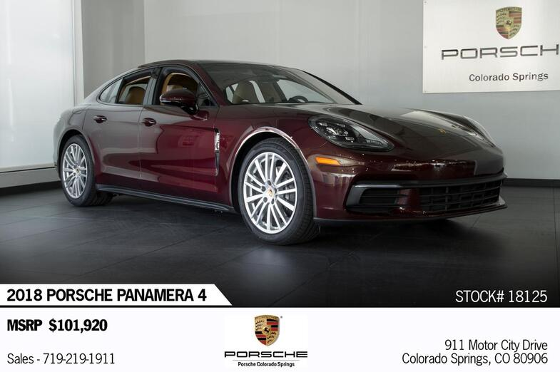 2018 Porsche Panamera Panamera 4 Colorado Springs CO