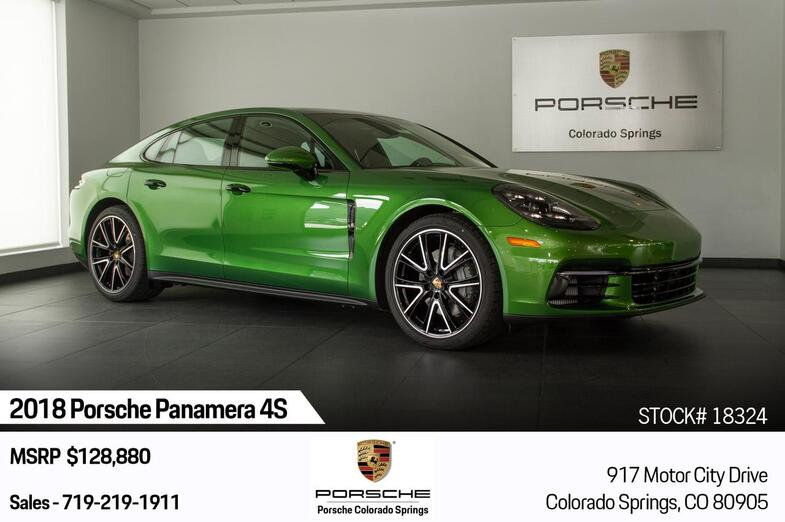 2018 Porsche Panamera Panamera 4S Colorado Springs CO