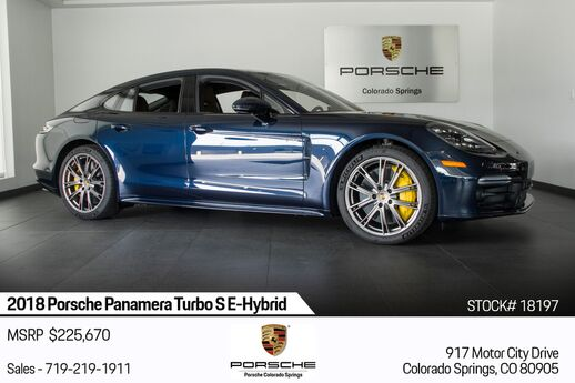 2018 Porsche Panamera Turbo S E-Hybrid Colorado Springs CO