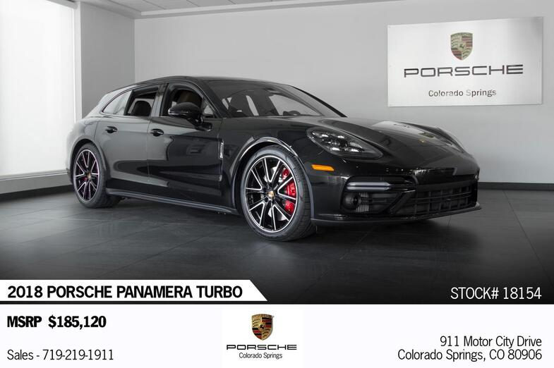 2018 Porsche Panamera Turbo Sport Turismo Colorado Springs CO