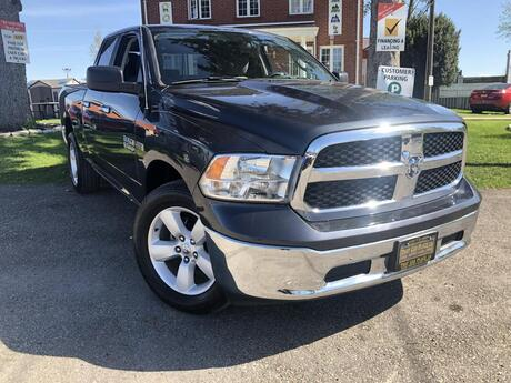 2018 RAM 1500 SLT Quad Cab-$115-4X4-Bluetooth-Cruise-PwrWndws-VeryLowKM! London ON