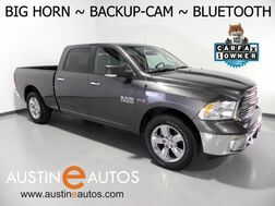 2018_Ram_1500 Big Horn Crew Cab_*BACKUP-CAMERA, TOUCH SCREEN, REMOTE START, 20 INCH WHEELS, STEERING WHEEL CONTROLS, BLUETOOTH PHONE & AUDIO_ Round Rock TX