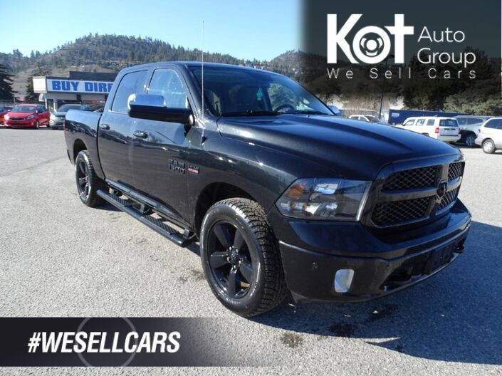2018 Ram 1500 Bighorn, Low Km's! Twin Tip Exhaust, Back-up Camera, Bluetooth Kelowna BC