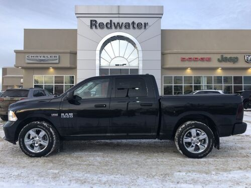 2018_Ram_1500_Express - 5.7L Hemi Engine - Crew Cab - Only 20,916 kms_ Redwater AB