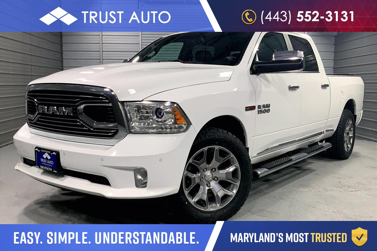 2018 Ram 1500 Laramie Limited 4WD Crew Cab LWB Long Bed Turbo Diesel Pickup Truck Sykesville MD