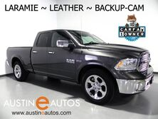 Ram 1500 Laramie Quad Cab *BACKUP-CAMERA, TOUCH SCREEN, LEATHER, CLIMATE FRONT SEATS, HEATED STEERING WHEEL, ALPINE AUDIO, BLUETOOTH 2018