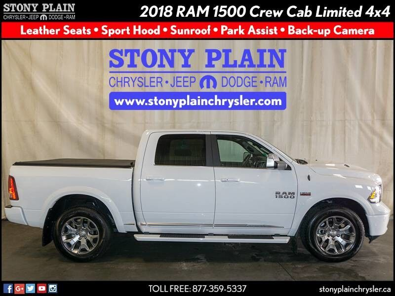 2018 Ram 1500 Limited Tungsten Edition Stony Plain AB