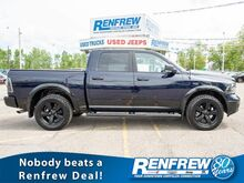 2018_Ram_1500_Outdoorsman 4x4 Crew Cab, Heated Seats, Remote Start, Bluetooth, SiriusXM, Backup Camera, Heated Steering Wheel_ Calgary AB