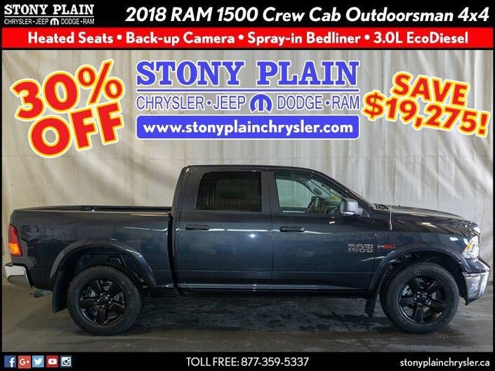 2018 Ram 1500 Outdoorsman Stony Plain AB