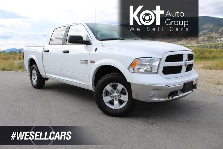 2018 Ram 1500 Outdoorsman, Very Low Km's, No Accidents, Back up Camera Kelowna BC