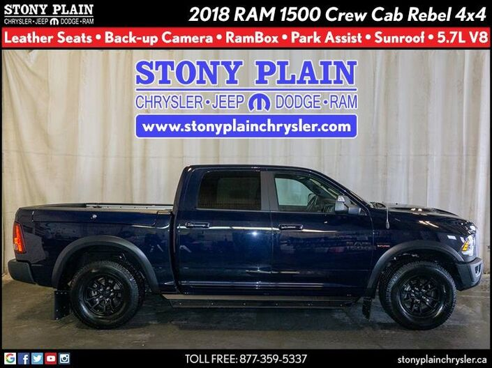 2018 Ram 1500 Rebel Stony Plain AB
