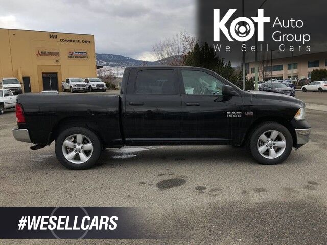 2018 Ram 1500 SLT, BACK UP CAM, HEATED SEATS BLUETOOTH. Kelowna BC