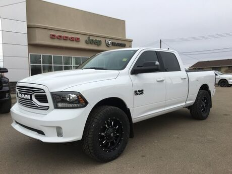 2018 Ram 1500 Sport - Rig Ready Ram - 4x4 Demo - Leather - Sunroof -  NAV Redwater AB