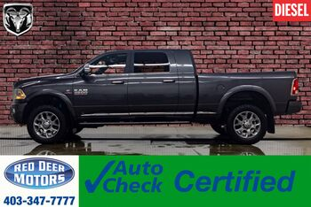 2018_Ram_2500_4x4 Mega Cab Limited Diesel Leather Roof Nav_ Red Deer AB