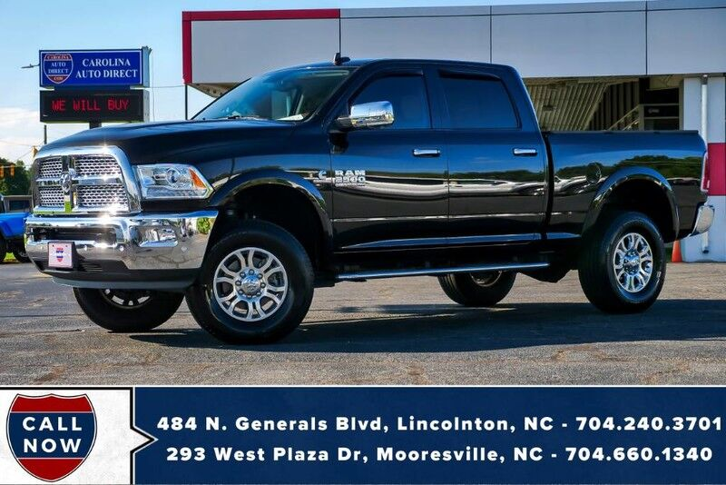 2018 Ram 2500 Laramie 4X4 **LIFTED*CUMMINS** w/ Heated Seats Mooresville NC
