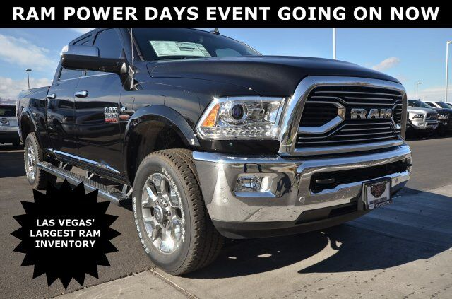 2018 Ram 3500 LIMITED CREW CAB 4X4 6'4 BOX