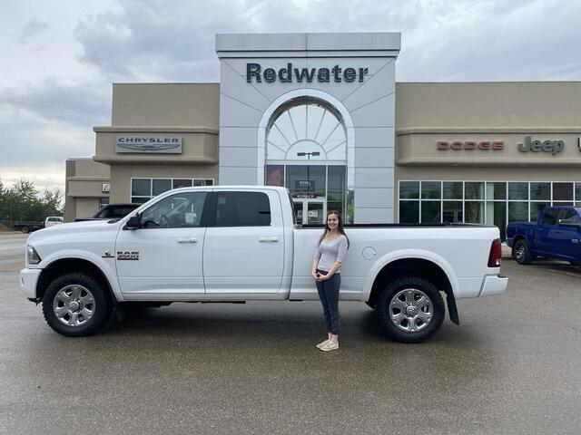 2018 Ram 3500 Laramie - 4X4 - Cummins Diesel - 5th Wheel Prep - 8ft Box - Power Sunroof - Navigation - One Owner Redwater AB