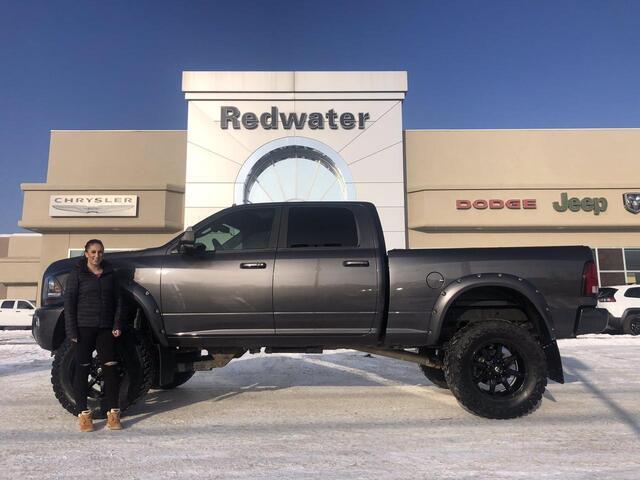 2018 Ram 3500 Laramie - Rig Ready Ram - Cummins Diesel - AISIN Trans - Power Sunroof - One Owner Redwater AB