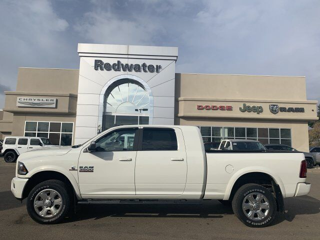 2018 Ram 3500 Laramie Mega Cab - AISIN Transmission - Cummins Diesel - Remote Start - Sport Group Redwater AB
