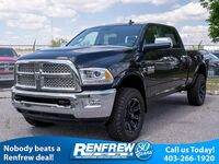Ram 3500 Laramie, Sunroof, Remote Start, Alpine Stereo, Heated/Cooled Leather 2018