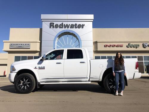2018_Ram_3500_Limited Crew Cab - 4X4 - Cummins Diesel - 5th Wheel Prep - Sunroof - Cargo Camera - One Owner_ Redwater AB