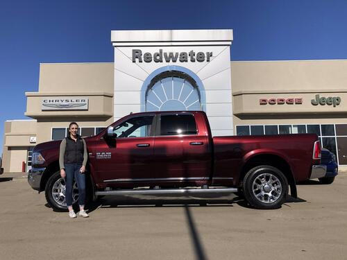 2018_Ram_3500_Limited Crew Cab - Cummins Diesel -  AISIN Trans- 5th Wheel Prep - Rear Auto Level Suspension_ Redwater AB